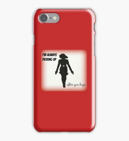 I'm Always Picking Up iPhone Case/Skin