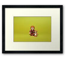 Hobbit Bilbo Framed Print