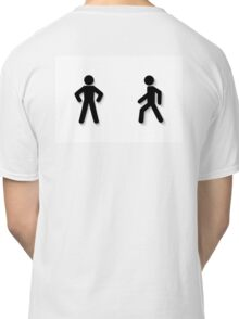 pedestrian traffic Classic T-Shirt