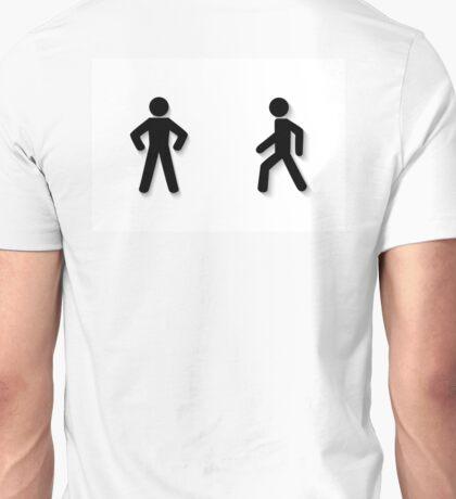 pedestrian traffic Unisex T-Shirt