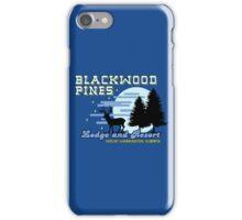 Until Dawn - Blackwood Pines Lodge iPhone Case/Skin
