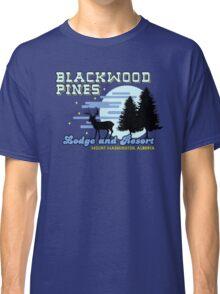 Until Dawn - Blackwood Pines Lodge Classic T-Shirt