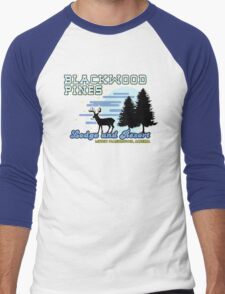Until Dawn - Blackwood Pines Lodge Men's Baseball ¾ T-Shirt