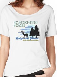 Until Dawn - Blackwood Pines Lodge Women's Relaxed Fit T-Shirt