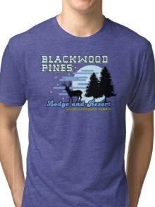 Until Dawn - Blackwood Pines Lodge Tri-blend T-Shirt