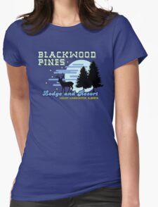 Until Dawn - Blackwood Pines Lodge Womens Fitted T-Shirt
