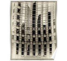 Reflections In Manhattan Poster