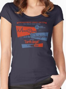 Marvin Berry & the Satrlighters Women's Fitted Scoop T-Shirt