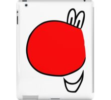 Red nose days clothing geek funny nerd iPad Case/Skin