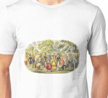 1800's Kensington Gardens scene  Unisex T-Shirt