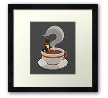 Mystery Tea Framed Print
