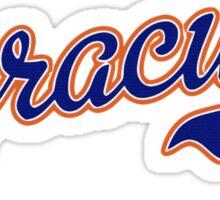 Syracuse Script Sticker