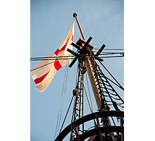 The Crow's Nest: Golden Hinde, London Photographic Print