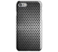 dotted metal background iPhone Case/Skin
