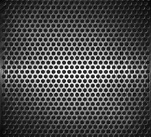 dotted metal background by lantica