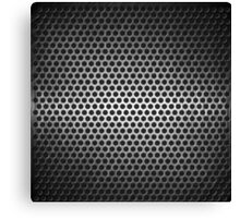 dotted metal background Canvas Print