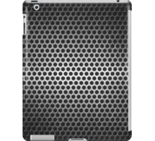 dotted metal background iPad Case/Skin
