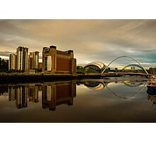 Tyne reflections  Photographic Print