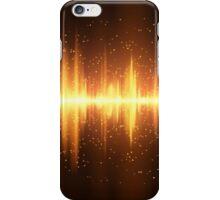 Equalizer background iPhone Case/Skin