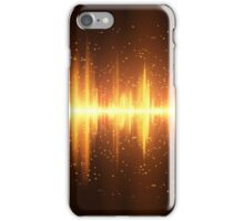 Equalizer background iPhone Case/Skin
