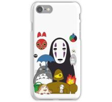 Ghibli mix iPhone Case/Skin