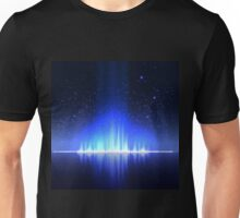 Digital blue Equalizer  Unisex T-Shirt