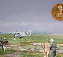 Charles Lindbergh by Kenneth Young