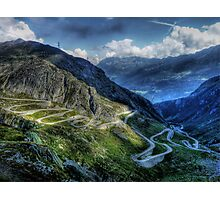 Gotthard Elbows Photographic Print