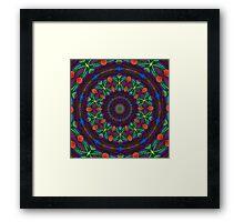 Kaleidoscope Eye Framed Print