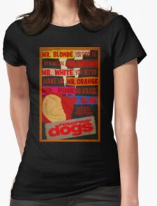 Reservoir Dogs - Wake Up and Apologize Womens Fitted T-Shirt