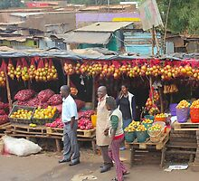 Street fruit market near Maungu, KENYA by Atanas Bozhikov Nasko