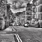 Great George Street in Glasgow Scotland by Katherine Maguire