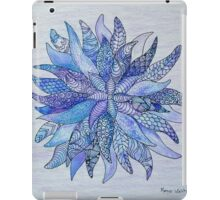 Zen flower iPad Case/Skin