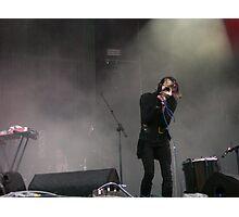 Chris Corner - IAMX - Live at Stare Misto festival - 2010 Photographic Print