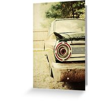 Classic Ford Fairlane Greeting Card