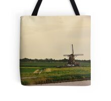 Windmill in the Countryside of Holland Tote Bag