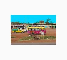 Bus stop on A109 Mombasa Road, KENYA Unisex T-Shirt