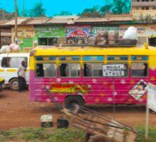 Bus stop on A109 Mombasa Road, KENYA Sticker