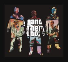 Grand Theft Auto 5, 3 Silhouettes Kids Clothes