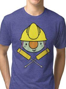 Jolly Doozer - Skull & Crossbones style Tri-blend T-Shirt