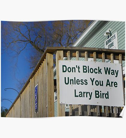 Sign Outside a Sandwich Shop Poster