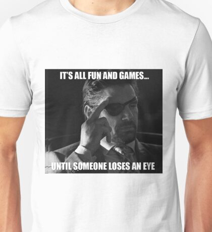 IT'S ALL FUN AND GAMES - Deathstroke Unisex T-Shirt