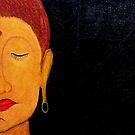 New work.. Buddha...! by Rahul Kapoor