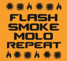Flash, Smoke, Molo, Repeat by SALSAMAN
