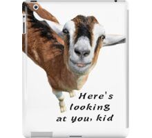 Here's looking at you kid iPad Case/Skin