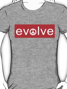 Evolve: Coexist in Peace (red version) T-Shirt