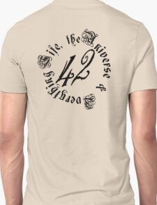 Life, the Universe and Everything, version 2.0 Unisex T-Shirt