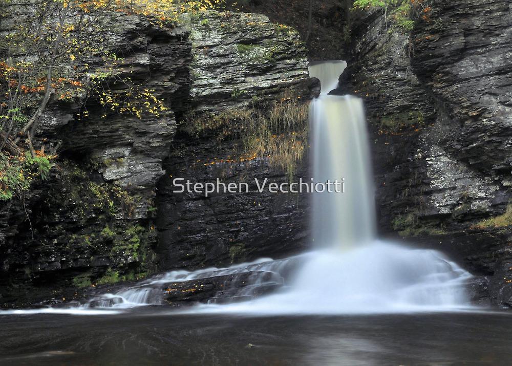 Deer Leap Falls by Stephen Vecchiotti