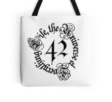 Life, the Universe and Everything, version 1.0 Tote Bag