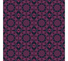 The Passion of the Perfect Purple Pattern Photographic Print